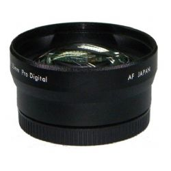 0.45x Wide Angle Lens for Panasonic Lumix FZ47 (Includes Lens Adapter)