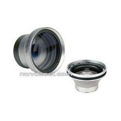 0.5x Super Wide Angle Lens w/ Macro For Panasonic  Camcorders