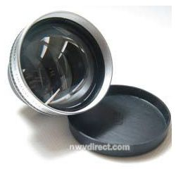 0.5x Super Wide Angle Lens w/ Macro For JVC® Camcorders