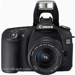Canon EOS 30D, 8.2 Megapixel, SLR, Digital Camera with Canon EF-S 18-55mm f/3.5-5.6 Autofocus Lens