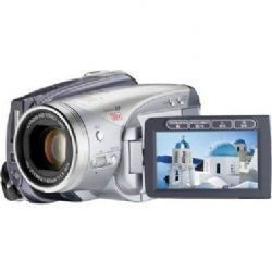 HV20 HDV Camcorder, 1/2.7 inch 2.96MP CMOS Sensor, 1920 x 1080 Resolution, 24p Frame Rate, with 10x Optical Zoom, Optical Image Stabilizer, HDMI, Hot Shoe and HC miniSD Card Slot