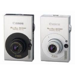Canon PowerShot SD1000 Digital Elph, 7.1 Megapixel, 3x Optical/4x Digital Zoom, Digital Camera (Black or Silver)