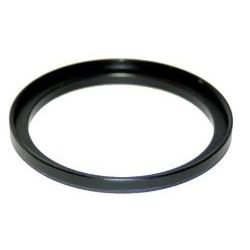 58mm-55mm Stepping Ring For Lenses Or Filters (Chrome Or Black Finish)