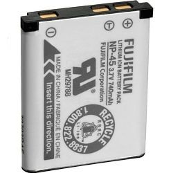 Fujifilm NP-45 Rechargeable Lithium-Ion Battery (3.7v 740mAh) for Select Finepix Digital Cameras