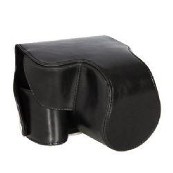 Camera Case Bag Cover Protector Protective for Panasonic Lumix DMC-FZ200 (Black) (Accommodates Leica V-LUX 4)