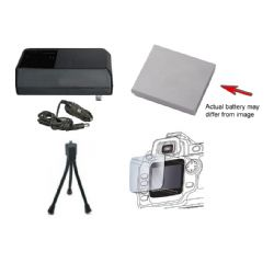 Canon NB-6L High Capacity Battery And AC/DC Rapid Charger For Select Canon Powershot Cameras