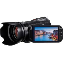 "Canon VIXIA HF G10 Flash Memory Camcorder | 1920 x 1080 HD Recording | 32GB Internal Flash Drive | 2 x SD/SDHC/SDXC Memory Card Slots | Canon HD CMOS Pro Image Sensor | 3.5"" Touch Panel LCD | Color Viewfinder | Genuine Canon 10x HD Video Lens | 4923B002"