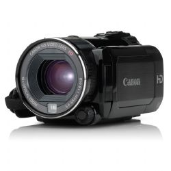 "Canon VIXIA HF S200 Flash Memory Camcorder | 2 x SD/SDHC Memory Card Slot | Eye-Fi Memory Card Compatible | 1/2.6"" 8.59MP CMOS Sensor 