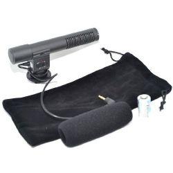 High Fidelity Electret Condenser Stereo Microphone For Digital SLR Cameras