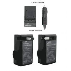Merkury Innovations AC/DC Rapid Battery Charger for Leica BP-DC10 And Panasonic DMW-BCJ13