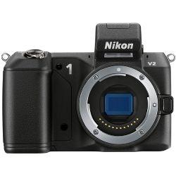 Nikon 1 V2 Mirrorless Digital Camera (Black) ||
