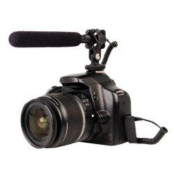 Shotgun Stereo Microphone For DSLR & Camcorder