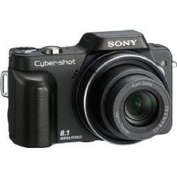 Sony Cyber-shot DSC-H10/B 8.1 MP Digital Camera | Point & Shoot | Compact Sensor | 10 x optical zoom | CCD - Memory Stick | Pop-up Flash | 9.3 ounce | DSCH10B