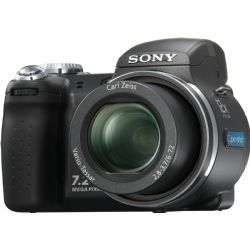 Sony Cyber-shot DSC-H5 7.2 MP Digital Camera | Zoom lens - 6 mm - 72 mm - f/2.8-3.7 | 7.2 Megapixel | Flash - integrated (soldered memory - 32 MB ) | Memory Stick Duo, Memory Stick PRO Duo | Pop-up flash | Zoom lens - 6 mm - 72 mm - f/2.8-3.7 | DSC-H5