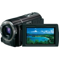 "Sony HDR-CX360V Camcorder | 1920 x 1080/60p HD | 32GB Internal Flash Memory | Memory Stick Duo / SD Memory Card Slot | 1/4"" Exmor R CMOS Sensor 