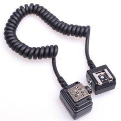 Zeikos ZE-OCSCN Off Camera Shoe Cord for Nikon Flash